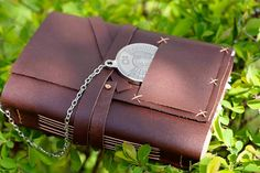 Handmade Leather Journal and Sketchbook  by Ksurdnasjournals, $30.00