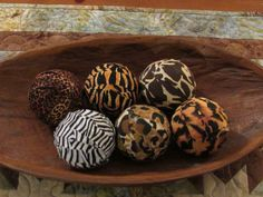 African Safari Decorative Fabric Rag by PaisleyStarCreations, $9.99