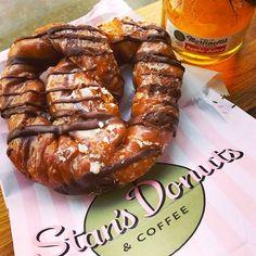 "Chicago's 25 Most Instagrammed Restaurants #refinery29  http://www.refinery29.com/chicago-restaurants-instagram#slide4  Stan's DonutsYou had us at ""pretzel donut."" Stan's Donuts, 1560 North Damen Avenue; 773-360-7386."