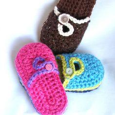 Inspiration - crochet slippers