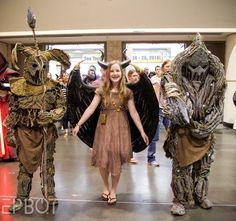 Another jaw-dropper: this little Maleficent brought two of her Tree Warriors. I've never seen these cosplayed before! - See more at: http://www.epbot.com/2015/04/megacon-2015-best-cosplay-part-2.html#sthash.v4osSsz9.dpuf
