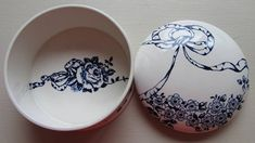 Items similar to Vintage Gift. Mid Century Blue and White Pot. 1950 James Kent Old Foley on Etsy White Pot, Blue And White, Vintage Gifts, Trinket Boxes, Garland, Decorative Plates, Mid Century, Ceramics, Tableware