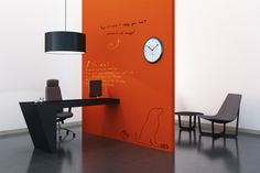 $150 option Low Odor Clear Dry Erase Paint -can make absolutely anyplace into a whiteboard by painting clear whiteboard paint over ANY paint you choose. I must have this for many little nooks and crannies around the house and garage! Whiteyboard.com