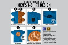 T-shirt mock up to show off your beautiful design or get an idea for business t-shirts