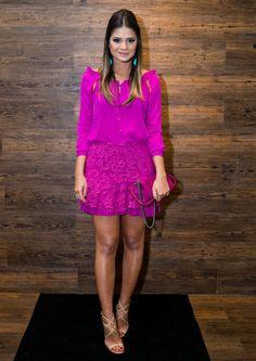 Os 22 Melhores Looks das Blogueiras em Agosto - Oh, Lollas Looks trabalho. Look do dia: blogueiras, fashionistas e street style nas semanas de moda. #Lookdodia #ootd #Lookdujour #saia #dress #skirts