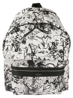 f0d85ee2435 SAINT LAURENT Saint Laurent Printed Backpack. #saintlaurent #bags  #backpacks #