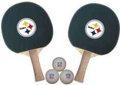 NFL Pittsburgh Steelers Table Tennis Paddles by Imperial. $19.99. NFL Pittsburgh Steelers Table Tennis Paddles