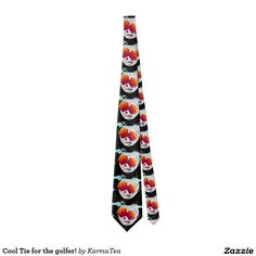 Cool Tie for the golfer!