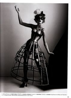 Anita Berber inspired editorial by Karl Lagerfield - Anita was a burlesque dancer and actress from the '20's...
