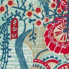 Kimo linocut print. by Zebedeeprint on Etsy