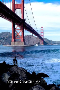 The Golden Gate Bridge by StevesPhotosandCards on Etsy, $4.50