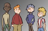 Character style I created for Carling Lager