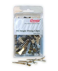 Annie Single Prong Clips 80 Count *** Check this awesome product by going to the link at the image.(This is an Amazon affiliate link)