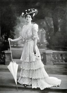 Afternoon Dress By Redfern - Les Modes   c. September 1906