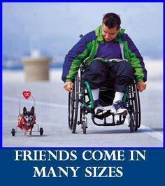 Friends come in MANY sizes.....makes my heart smile......