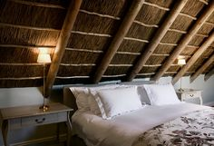 ... love these thatched ceilings. I love its color and the texture it ...