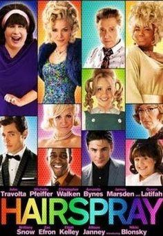 Hairspray (2007). Nikki Blonsky and John Travolta