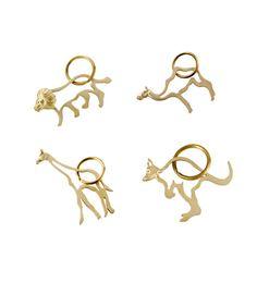 Animal Key Ring