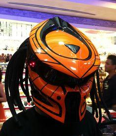 Made to order color combination DOT  Predator Carbon helmet.