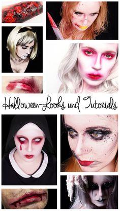 """Eine Sammlung all meiner Halloween-Make ups und Tutorials. Von """"Kill Bill"""" und """"Die purpurnen Flüsse"""" über """"Wunden schminken mit Gelatine"""" bis zu gruseligen Lip Arts."""