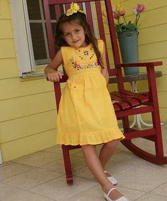 Mango Leonor Dress - Infant, Toddler & Girls by Little Cotton Dress #zulily #zulilyfinds