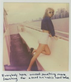 Taylor Swift Polaroid 53 - Welcome To New York #1989