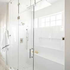 Steam Shower With Multiple Shower Heads