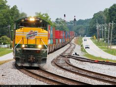 RailPictures.Net Photo: UP 1995 Union Pacific EMD SD70ACe at Temple, Georgia by Kyle Yunker
