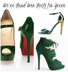 Image result for green wedding shoes