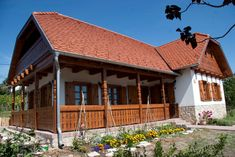Szentendre - álomszép! House In The Woods, Sweet Home, Farmhouse, Traditional, Country, House Styles, Folklore, Cottages, Home Decor