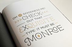 Edmond Hoyle | Typography | Design | Color Palette | Beautiful fun typefaces and graphic details