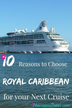 Each cruise line has something for everyone, but there are many reasons to sail with Royal Caribbean.  My last cruise was a 7 day Western Caribbean cruise that visited Belize, Honduras and Mexico, and it was truly one of my most enjoyable vacations ever.  The trip was completely worry and stress free, and I found it easy to relax and enjoy every moment. #Cruise #Travel #Royal #Caribbean