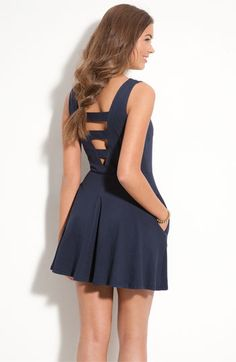love the back of this dress (Nordstrom) thinking my birthday dress? :)