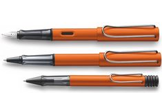 Lamy Al-Star in Copper Orange. Limited colour for 2015. Need to get my hands on one!