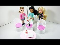 How to make patio furniture for your doll house from plastic cups