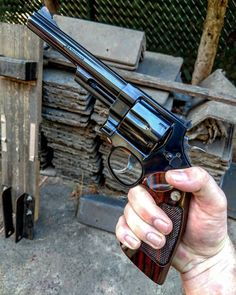 """Smith & Wesson Model """"Classic"""" Magnum, N-Frame Smith And Wesson Revolvers, Smith Wesson, Weapons Guns, Guns And Ammo, Rifles, Armas Wallpaper, Revolver Pistol, Cool Guns, Firearms"""