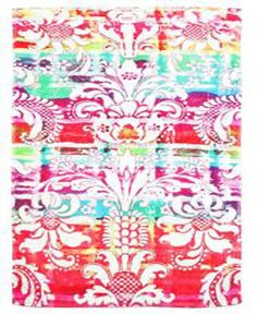 Fresco towels Rainbow Damask - Large Bathmat