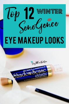 Get the perfect Winter eye looks using SeneGence ShadowSense trios with these graphics.  Your next favorite eyeshadow combinations are inside!!  Best makeup colors ideas for all winter long.  #winter #shadowsense #senegence #eyeshadow #shadowsensetrios