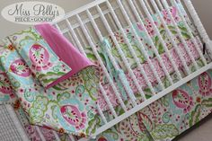 Crib Bedding~~ Design Your Own with Kumari Garden fabrics~    https://www.etsy.com/shop/MissPollysPieceGoods