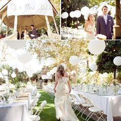 Balões no casamento - Berries and Love - Ballons wedding ideias