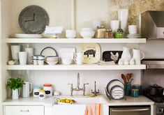 mix in a little of you. Threshold collection at Target.  Modern vintage kitchen