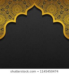 Floral background with traditional ornament vector image on VectorStock Poster Background Design, Powerpoint Background Design, Background Patterns, Ramadan, Creative Poster Design, Creative Posters, Wedding Invitation Background, Boarder Designs, Pooja Room Design