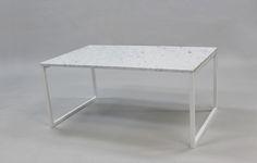 Marmorbord, vit- 100x60x45 cm, vitt underrede svävande Pris 5 500:- inkl frakt Finns även i 120x60 cm - pris 6 500:- inkl frakt