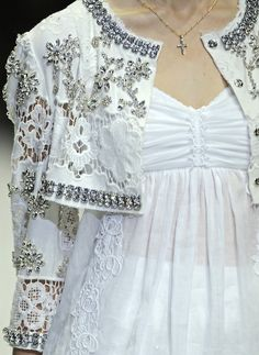 Dolce & Gabbana S/S 2011 Runway Details