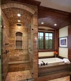 Glass Enclosed Shower Column Design, Pictures, Remodel, Decor and Ideas - page 37