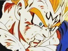 Resultado de imagen para gif anime vegeta