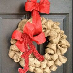 My diy Christmas wreath