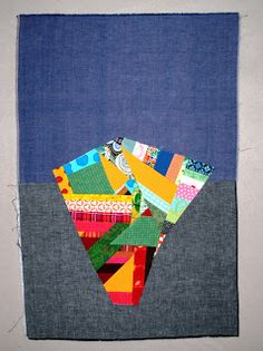 Basket full of Scraps...: How to construct a basket block