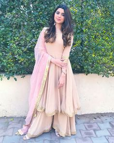 I always love to wear pastel shades ❤️❤️ ___________________This beautiful suit customised by my favourite Punjabi Fashion, Indian Fashion, Pakistani Outfits, Indian Outfits, Indian Clothes, Indian Attire, Indian Wear, Party Wear Dresses, Bridal Dresses