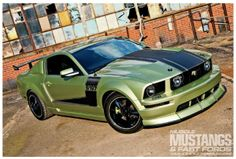 2006 Ford Mustang GT - Lime Disease: Jimmy Pongracz's obsession has been dormant since childhood, but the bug bit when the S197 Mustang came out.